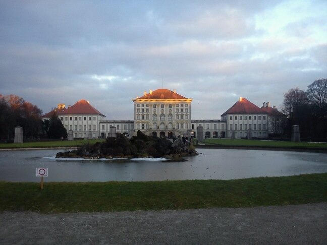 Castle Nymphenburg in Munich